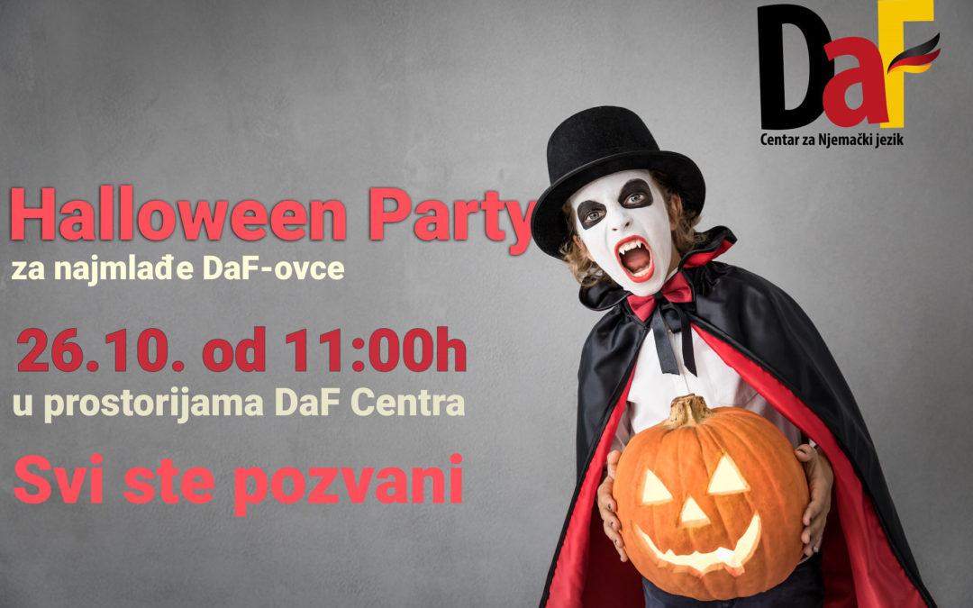 Halloween party za najmlađe DaFovce